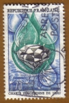 Stamps France -  GOTAS DE AGUA Y DIAMENTES