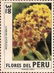 Stamps Peru -  Flores del Perú: Liabum excelsum.