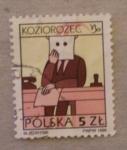 Sellos de Europa - Polonia -  koziorozec