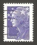 Sellos del Mundo : Europa : Francia :  marianne de beaujard