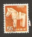 Stamps Japan -  caballo de peluche