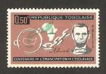 Stamps : Africa : Togo :  centº de la liberación de la esclavitud