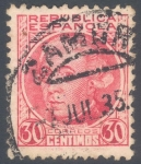 Stamps Spain -  ESPAÑA 1935_687.02 Españoles ilustres (II)
