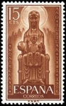 Stamps Spain -  Año Jubilar de Montserrat