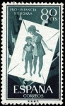Stamps Spain -  Pro infancia húngara