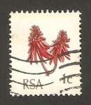 Stamps South Africa -  flora