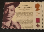 Stamps : Europe : United_Kingdom :  Condecoraciones: Gurkha