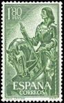 Stamps Spain -  Gonzalo Fernández de Córdoba