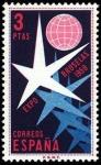 Stamps Spain -  Exposición de Bruselas