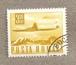 Stamps Romania -  Avión