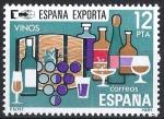 Stamps Spain -  2627 España Exporta. Vinos.