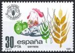 Sellos de Europa - España -  2629 Día Mundial de la alimentación. Logo de la F.A.O.