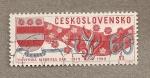 Sellos de Europa - Checoslovaquia -  50 Aniv republica Eslovaca