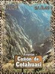 Stamps of the world : Peru :  Cañones del Perú: Cañón de Cotahuasi (Arequipa).