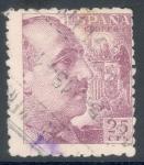 Sellos de Europa - España -  ESPAÑA 1940_923 General Franco y escudo de España