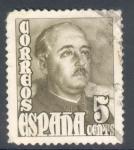 Stamps Spain -  ESPAÑA 1948_1020 General Franco (huecograbado)