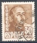 Stamps Spain -  ESPAÑA 1948_1022 General Franco (huecograbado)