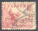 Sellos de Europa - España -  ESPAÑA 1949-53_1045 El Cid y General Franco.