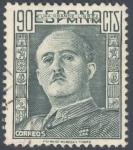 Sellos de Europa - España -  ESPAÑA 1949-53_1060.01 El Cid y General Franco.