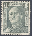 Stamps Spain -  ESPAÑA 1949-53_1060.02 El Cid y General Franco.