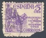 Sellos de Europa - España -  ESPAÑA 1949_1062 Auxilio a las víctimas de la guerra