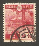 Stamps Japan -  269 - Puerta Yomeimon en Nikko
