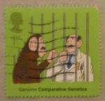 Sellos de Europa - Reino Unido -  gerome comparative genetics