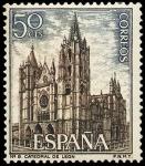 Sellos del Mundo : Europa : España : E1542 - Catedral de León