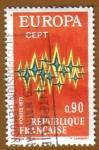 Sellos de Europa - Francia -  EUROPA - CEPT