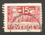 Stamps Sweden -  V centº del parlamento