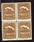 Stamps Uruguay -  Estacion  Central