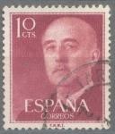 Sellos de Europa - España -  ESPAÑA 1955-6_1143.03 General Franco (1892-1975).