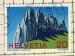 Sellos de Europa - Suiza -  Alpes