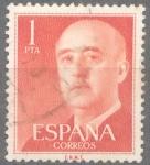 Stamps Spain -  ESPAÑA 1955-6_1153.04 General Franco (1892-1975).