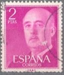 Sellos de Europa - España -  ESPAÑA 1955-6_1158.02 General Franco (1892-1975).