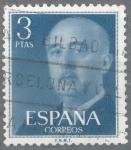 Stamps Spain -  ESPAÑA 1955-6_1159.02 General Franco (1892-1975).
