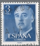 Stamps Spain -  ESPAÑA 1955-6_1159.03 General Franco (1892-1975).