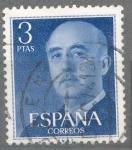 Sellos de Europa - España -  ESPAÑA 1955-6_1159.04 General Franco (1892-1975).