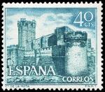 Sellos del Mundo : Europa : España : E1740 - Castillo de la Mota