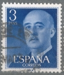 Stamps : Europe : Spain :  ESPAÑA 1955-6_1159.07 General Franco (1892-1975).