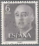 Sellos de Europa - España -  ESPAÑA 1955-6_1161 General Franco (1892-1975).