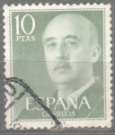 Stamps : Europe : Spain :  ESPAÑA 1955-6_1163 General Franco (1892-1975).