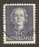 Stamps : Europe : Netherlands :  518 - Reina Juliana