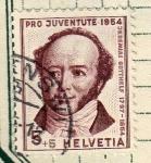 Stamps Switzerland -  Jeremias  Gutthelf
