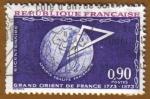 Sellos de Europa - Francia -  GRANT ORIENT 1777-1973