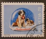 Stamps Switzerland -  san bernardo