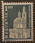 Stamps Switzerland -  riva san vitale