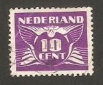 Stamps Netherlands -  cifra