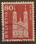 Stamps Switzerland -  st. gallen