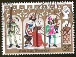 Sellos del Mundo : Europa : Reino_Unido : GOOD KING WENCESLAS